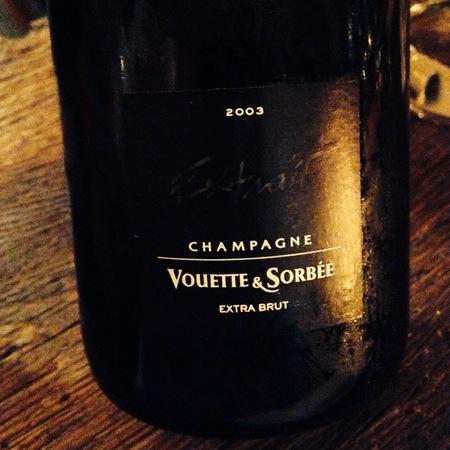 Vouette et Sorbée Extrait Extra Brut Champagne Blend 2005