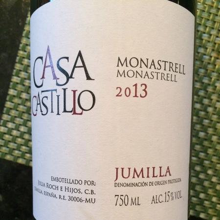 Casa Castillo (Julia Roche E Hijos) Jumilla Monastrell 2016