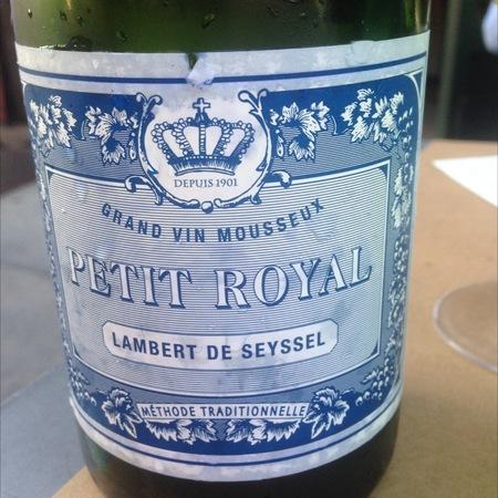 Lambert de Seyssel Petit Royal Molette Altesse Blend