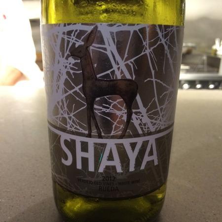 Bodegas Y Vinedos Shaya Shaya Rueda Verdejo 2012