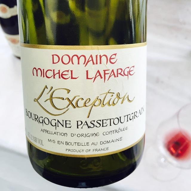 L'Exception Bourgogne Passetoutgrains Pinot Noir  Gamay  2013