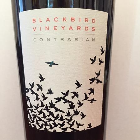 Blackbird Vineyards Contrarian Red Bordeaux Blend 2013
