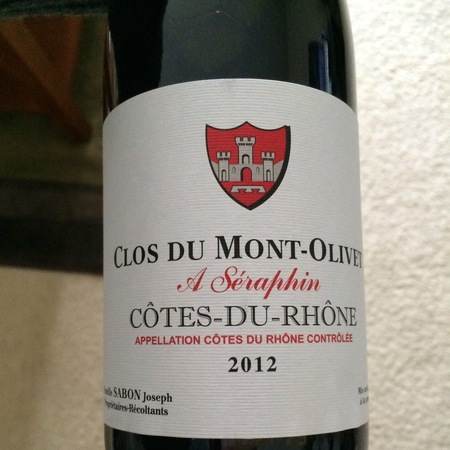 Clos du Mont-Olivet Seraphin Côtes du Rhône Red Rhone Blend 2014