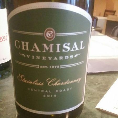 Chamisal Vineyards Stainless Chardonnay 2015