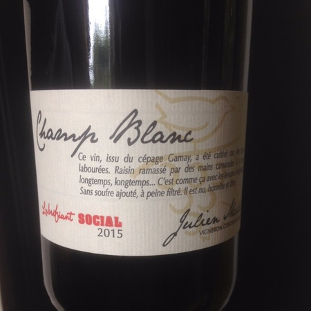 Domaine Julien Merle Lubrifiant Social Champ Blanc Gamay 2015