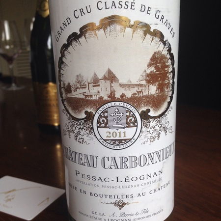 Château Carbonnieux Pessac-Léognan Sémillon-Sauvignon Blanc Blend 2015