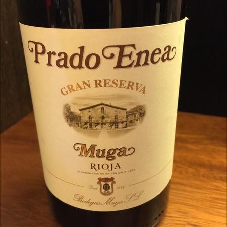 Bodegas Muga Prado Enea Gran Reserva Rioja Tempranillo 2009