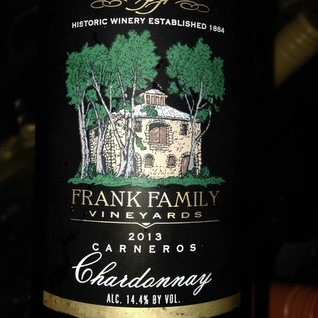 Frank Family Vineyards Napa Valley Cabernet Sauvignon 2013
