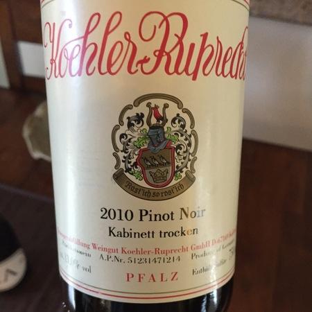 Koehler-Ruprecht Kabinett trocken Pinot Noir 2014