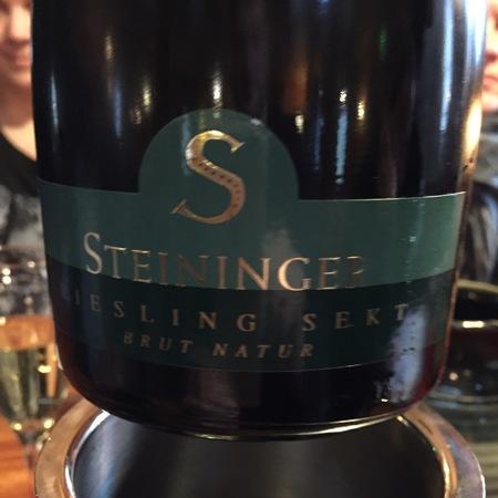 Weingut Steininger Brut Natur Sekt Riesling  2014