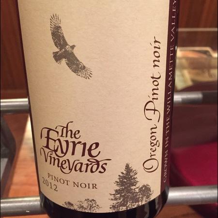 The Eyrie Vineyards  Estate Grown Pinot Noir 2014