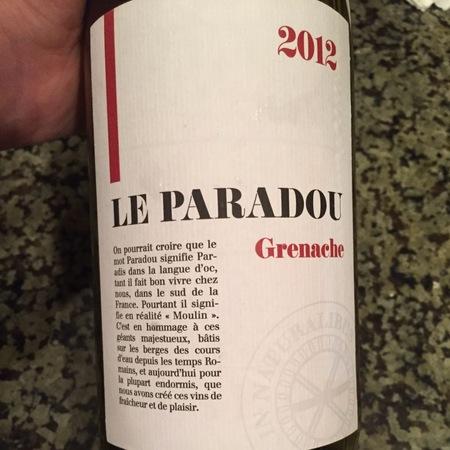 Le Paradou Vin de Pays d'Oc Viognier 2015
