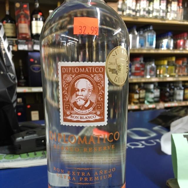 Diplomático Blanco Reserve Ron Extra Añejo Ultra Premium Rum  NV