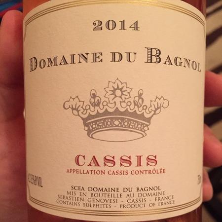 Domaine du Bagnol Cassis Grenache Blend Rosé 2016