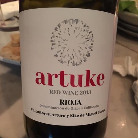 Bodegas y Viñedos Artuke Rioja Tempranillo Blend 2016