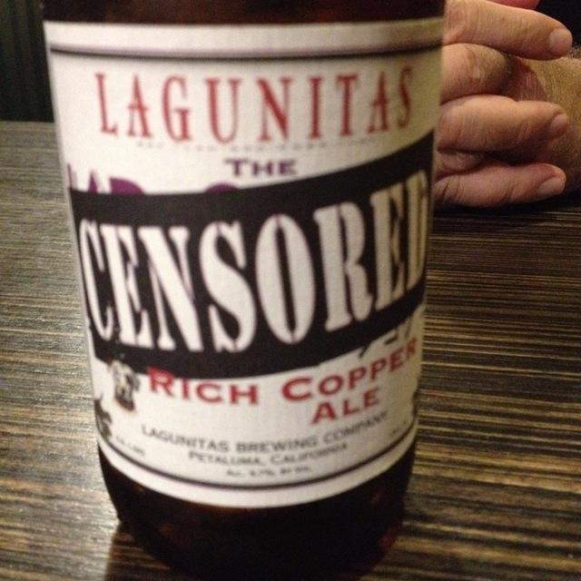 Censored Rich Copper Ale NV