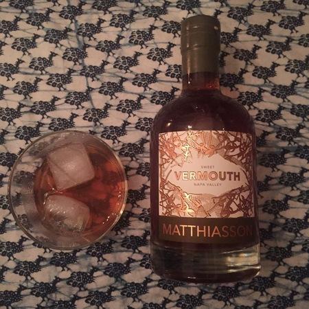 Matthiasson Napa Valley Sweet Vermouth NV