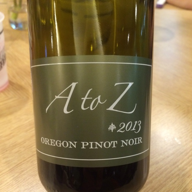 Oregon Pinot Noir 2013