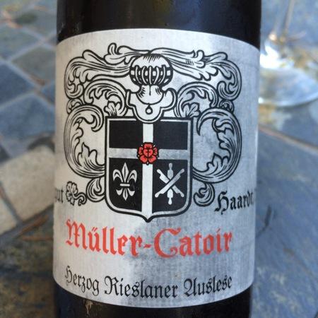 Müller-Catoir Haardter Herzog Auslese Rieslaner 2016 (375ml)