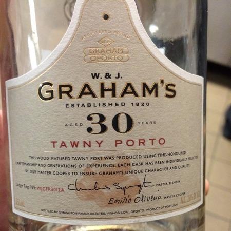 W. & J. Graham's Aged 30 Years Tawny Porto NV