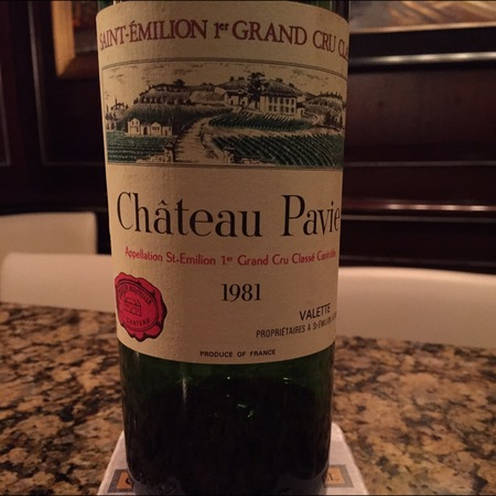 Château Pavie Saint-Èmilion Grand Cru Red Bordeaux Blend 2000