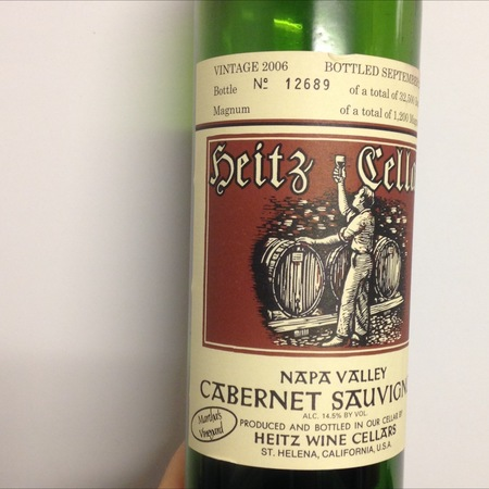 Heitz Cellar Martha's Vineyard Cabernet Sauvignon 2006