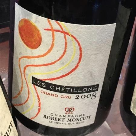 Robert Moncuit Les Chétillons Grand Cru Champagne Blend 2008