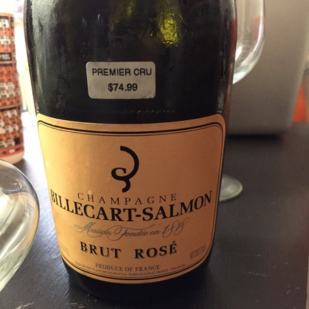 Billecart-Salmon Brut Rosé Champagne Blend NV (375ml)