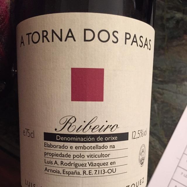 A Torna Dos Pasas Ribeiro Red Blend 2012