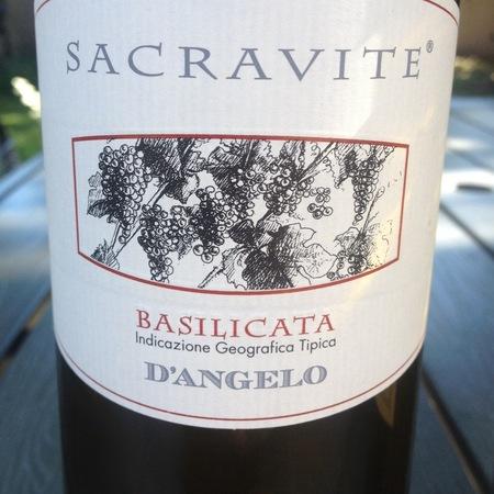 D'Angelo Sacravite Basilicata IGT Aglianico 2014