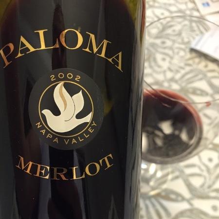 Paloma Napa Valley Merlot 2002