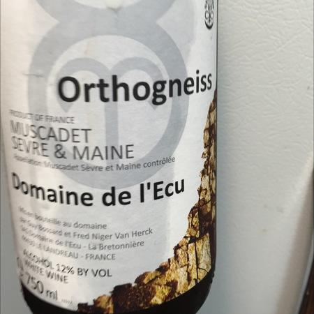 Domaine de l'Ecu (Guy Bossard) Orthogneiss Muscadet de Sèvre-et-Maine Melon de Bourgogne 2015