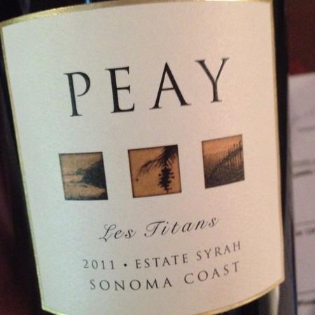 Peay Vineyards Les Titans Estate Sonoma Coast Syrah 2014