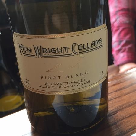 Ken Wright Cellars Willamette Valley Pinot Blanc 2013