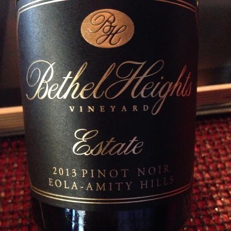 Bethel Heights Estate Pinot Noir 2013