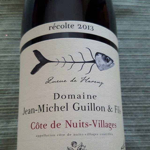 Queue de Hareng Côte de Nuits-Villages Pinot Noir 2013