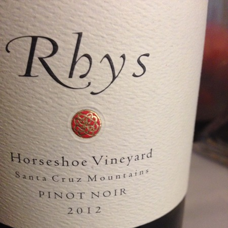 Rhys Vineyards Horseshoe Vineyard Pinot Noir 2012
