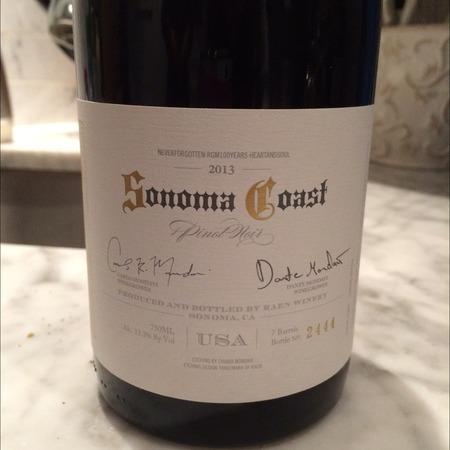Raen Winery Sonoma Coast Pinot Noir 2013