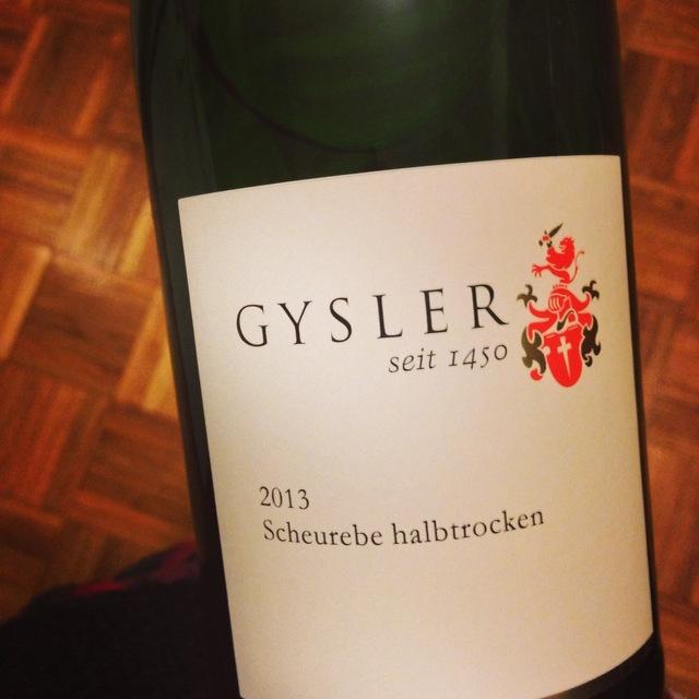 Halbtrocken Scheurebe 2013 (1000ml)