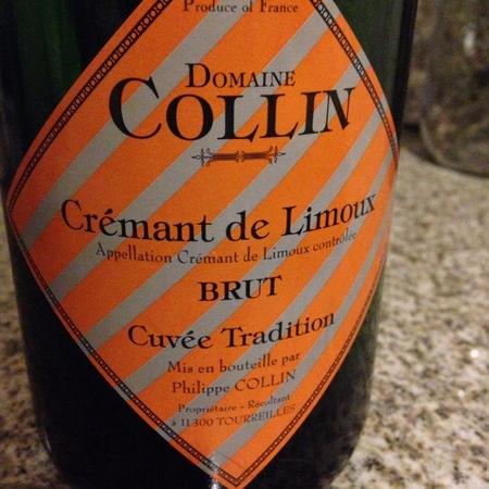 Domaine Collin Cuvée Tradition Brut Crémant de Limoux Chardonnay Blend NV