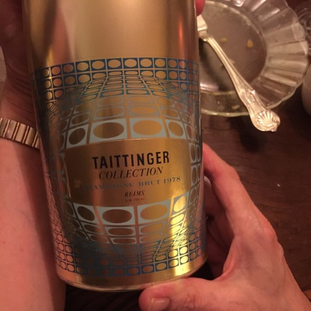Taittinger Artist Collection Brut Champagne Blend 1978