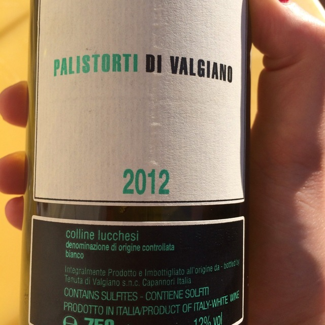 Palistorti di Valgiano Colline Lucchesi Sangiovese Blend 2012