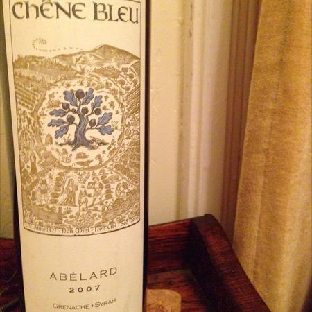 Chêne Bleu Abélard Grenache Syrah 2007
