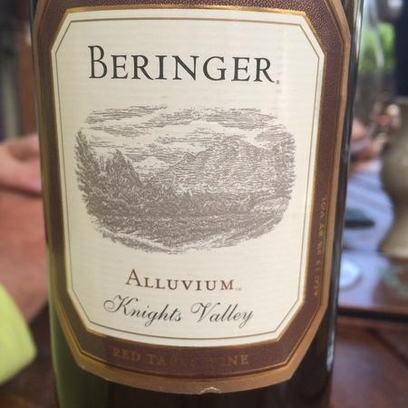 Beringer Vineyards Alluvium Knights Valley Merlot Blend 1994