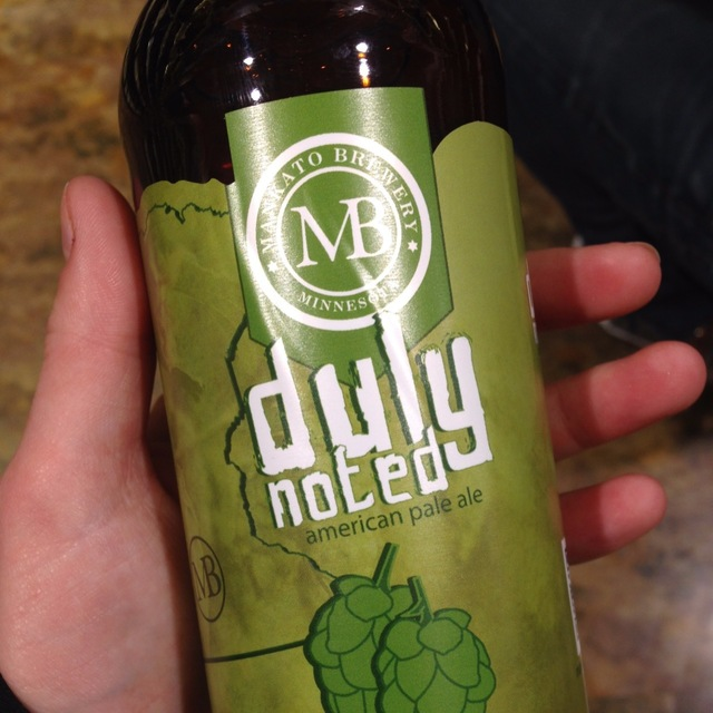 Duly Noted American Pale Ale NV
