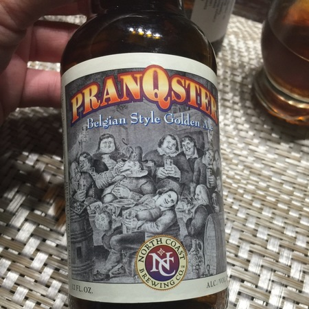 North Coast Brewing Company Pranqster Belgian Style Golden Ale NV
