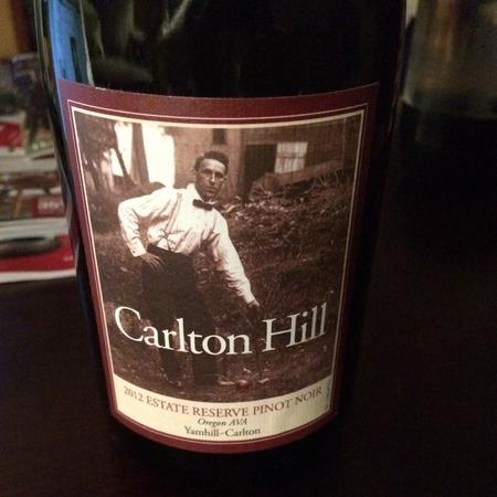 Carlton Hill Estate Reserve Yamhill-Carlton Pinot Noir 2008