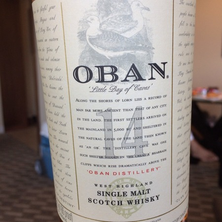 Oban 14 Years West Highland Single Malt Scotch Whiskey NV