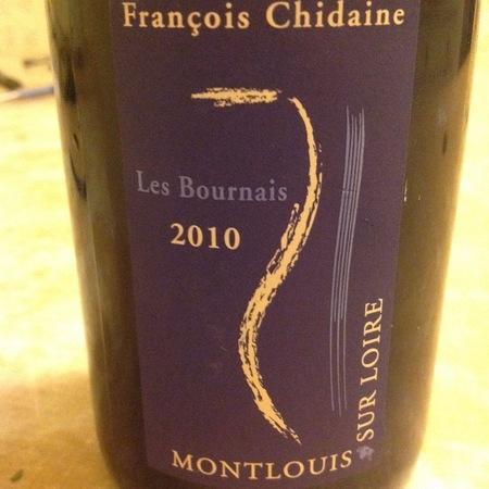 François Chidaine Les Bournais Montlouis-sur-Loire Chenin Blanc 2015