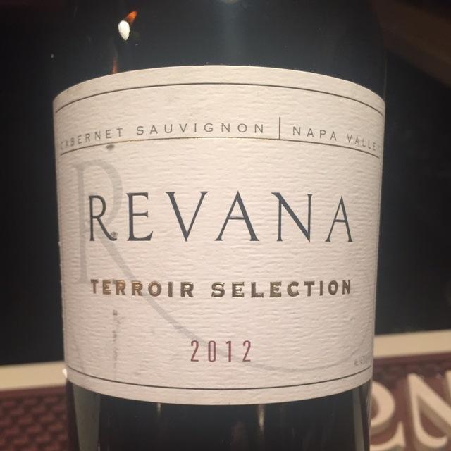 Terroir Selection Napa Valley Cabernet Sauvignon 2012